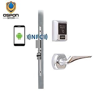 nfc system a front lock to mini an your convert using qduino door doors