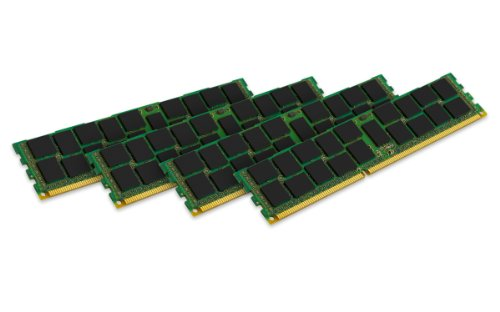 Reg Single Rank Ram Memory - Kingston Technology 8GB Kit (4x2 GB) 1600MHz DDR3 PC3 12800 240-Pin Reg ECC Single Rank DIMM Memory for IBM KTM-SX316SK4/8G