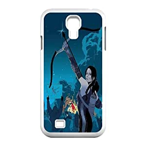 Unique Design -ZE-MIN PHONE CASE For SamSung Galaxy S4 Case -The Hunger Games Wallpaper Pattern 12