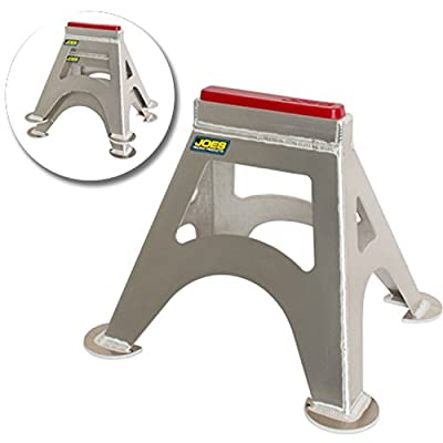 JOES Racing Products 55500 Stock Car Jack Stands 14 Height Urethane Pads Pair
