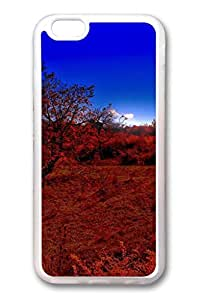 iPhone 6 TPU Clear Soft And Many Design iPhone Case Latest style Case Suit iPhone5/5S Very Nice And Ultra thin Case Easy To Operate Red Grassland