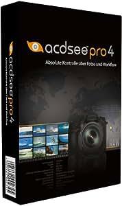ACD Systems ACDSee Pro 4 - Software de gráficos (1 usuario(s), 250 MB, 512 MB, Intel Pentium III / AMD Athlon, DEU)