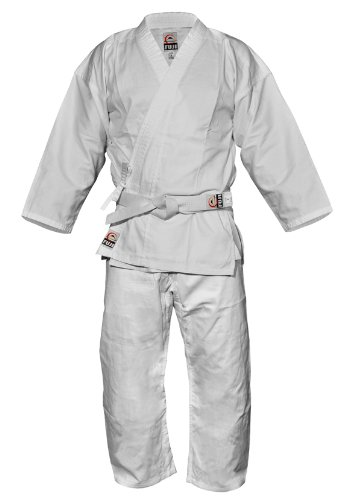 Fuji Karate Uniform, White, 7 by Fuji