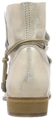 Buffalo London ES 30689 Flash, Women's Cold Lined Slip-on Boots Half Length Beige - Beige (Champagne 01)