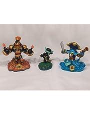 Skylanders Swap Force LOOSE Blast Zone, Wash Buckler, & Ninja Stealth Elf Set Includes Card Online Code by Activision