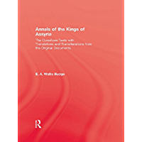 Annals Of The Kings Of Assyria (English Edition)