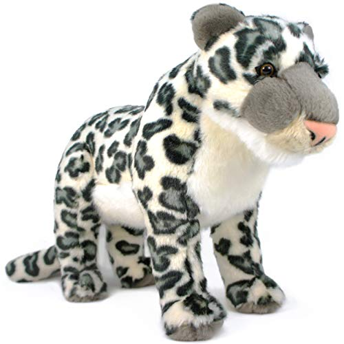 (VIAHART Lila The Snow Leopard | 17 Inch (Tail Measurement not Included!) Stuffed Animal Plush | by Tiger Tale Toys)