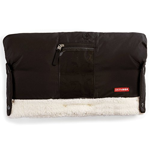 Skip Hop Stroll-and-Go Three-Season Hand Muff, One Size, Black by Skip Hop