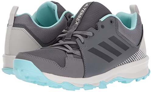 adidas outdoor Women's Terrex Tracerocker W Trail Running Shoe Grey Five/Chalk White/Easy Coral 6 M US by adidas outdoor (Image #6)