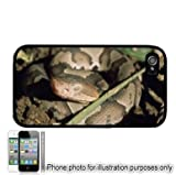 Copperhead Snake Photo Apple iPhone 4 4S Case Cover Black