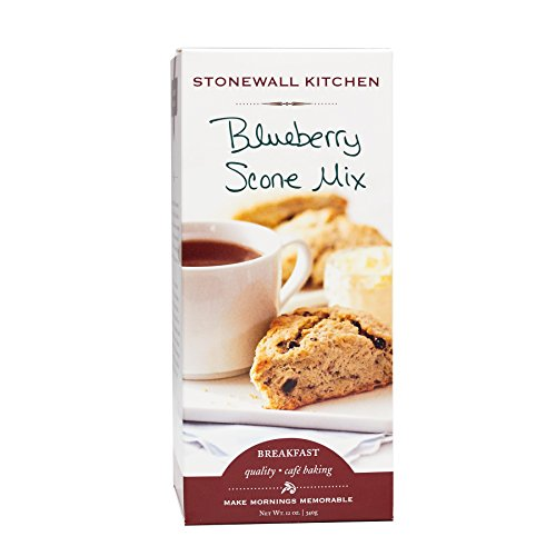 Stonewall Kitchen Blueberry Scone Mix, 12 Ounce Box ()