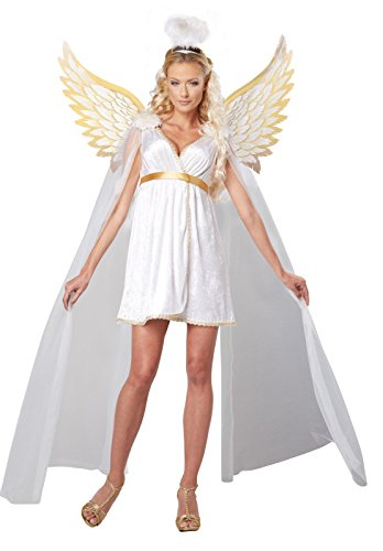 Angel Wings Costume Party City (Radiant Angel Adult Costume)