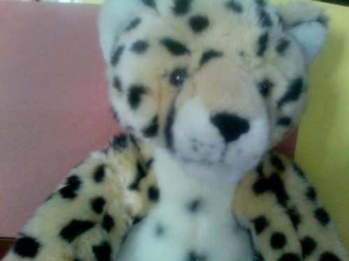 Build-a-Bear Workshop Leopard WWF