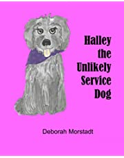 Halley the unlikely service dog