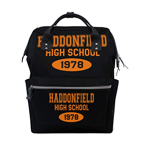 Travel Laptop Backpack Business Anti Theft Haddonfield-High-School-1978 Bag ()