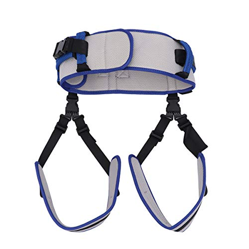 Healifty Transfer Belt with Leg Loops Patient Aid Transfer Sling Nursing Safety Gait Assist Device for Elderly ()