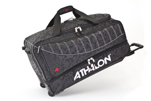 (Athalon Luggage The Glider 29 Inch Wheeling Duffel, Night Vision, One)