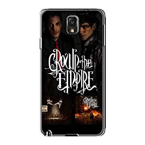Shockproof Hard Phone Cover For Samsung Galaxy Note3 (eVO14023wSAx) Provide Private Custom HD Breaking Benjamin Series