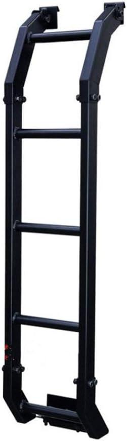 HJHNB D/écoration de Modification de Coffre d/échelle de Porte arri/ère de Porte arri/ère en Alliage pour Suzuki Jimny JB64 JB74 2019 2020 Accessoires de Style de Voiture Noir
