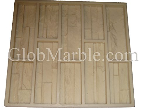 Cultured Stone Mold, Wall Veneer Paver. Rubber Mold 101/2