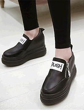 ZQ gyht Zapatos de mujer-Plataforma-Cuñas-Mocasines-Exterior / Casual-