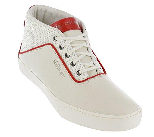Puma amqdek Mid II Alexander MC QUEEN Lifestyle Sneakers Uomo, Marshmallow...