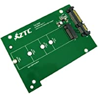 ZTC Thunder Board M.2 (NGFF) SSD to SATA III Board Adapter. Multi Size Fit with High Speed 6.0GB/s. Model ZTC-AD001