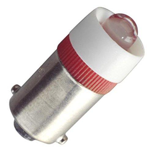 Eiko - LED-24-BA9S-R - Red Miniature Bayonet Base LED Light Bulb (Replaces 24MB, 28MB, 313, 757, 1818, 1819, 1820, 1829, 1843, 1864, 1873 Light Bulbs)