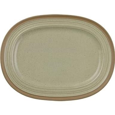 Churchill Art de Cuisine CD140plato gres plato ovalado (Pack de 6)