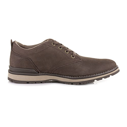 Lace Casual Schuhe Herren Up braun Cat dunkel Leder Rayen Oxford wXq7z8x