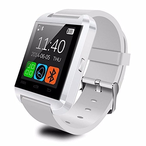 U8 Bluetooth Smart Watch Phone WristWatch for IOS Android iphone/Samsung/HTC (White) - 6