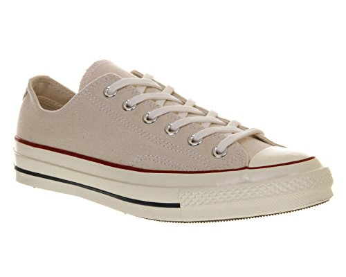 Unisex Converse All Star Classico in Pelle Bianca POMPE Skater Sneaker UK 6