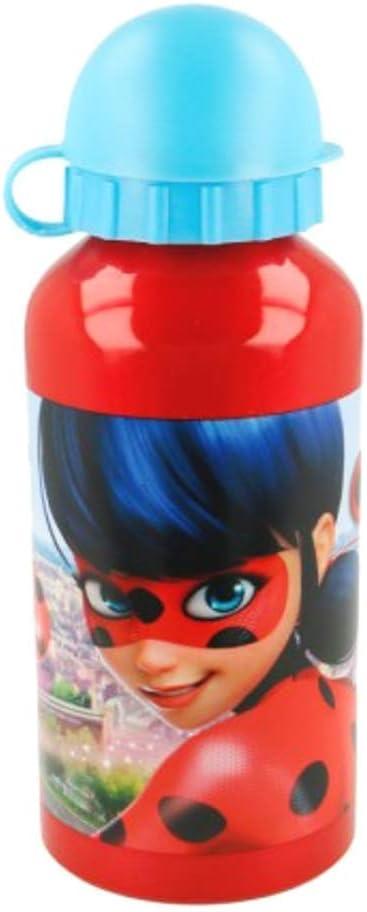 Lady Bug Theonoi Kinder Trinkflasche Sportflasche Wasserflasche Flasche Aluminium Aluminiumflasche w/ählbar Frozen Princess Ladybug Minions Minnie Peppa