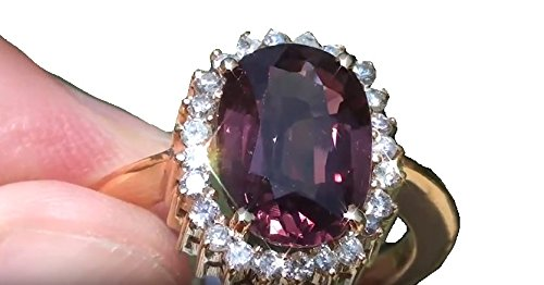 (Natural Pink Spinel 4.55ct Spinel Is a stone of revitalization, and it can re-energize all aspects of yourself)
