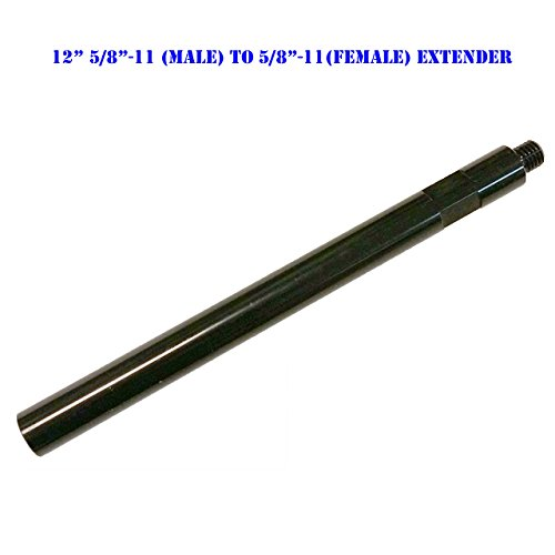 MTP 12″ Extension Core Drill Bit 5/8″-11 Thread Male to 5/8″ -11 Female Extender Power Drill / Hammer