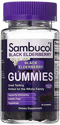 Sambucol Black Elderberry Gummies 120 ct (120 Count)