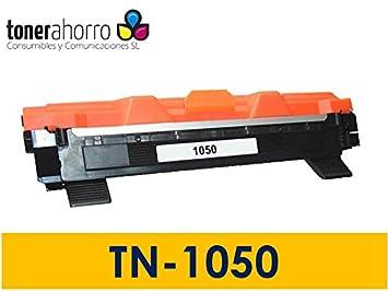 TonerAhorro ® TN1050 TN-1050 tóner 1500 páginas compatible para ...
