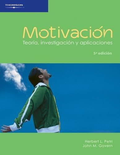 Motivacion/ Motivation: Teoria, investigacion y aplicaciones (Spanish Edition)