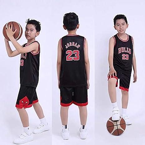 OLIS Boys Girls Basketball Clothes-Summer Basketball T-Shirt Lakers Bryant 24 Fan Edition Jersey Classic Sleeveless Top/&Shorts