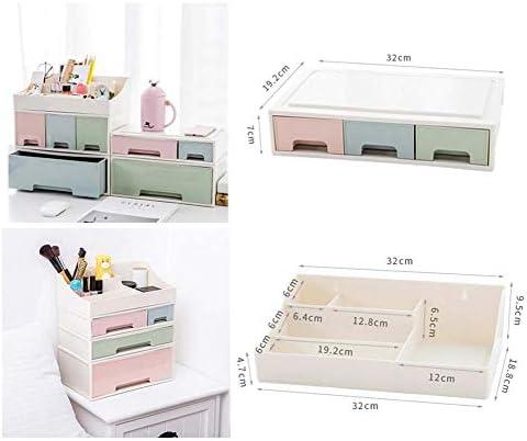 Büro Kunststoff Desktop Aufbewahrungsbox Schubladen Organizer, A-5