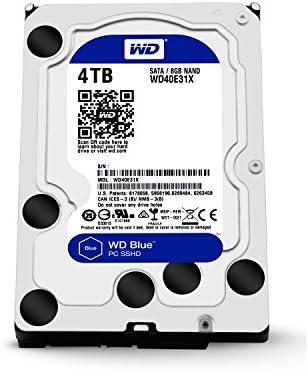 WD Azul wd40e31 X -00hy4 a0 4 TB Disco Duro híbrido Interno 3.5 ...