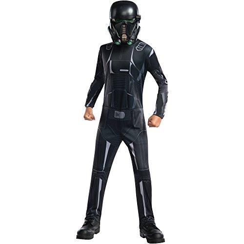 Disney Star Wars Boys' Rogue One Death Trooper Costume (Large 10/12)