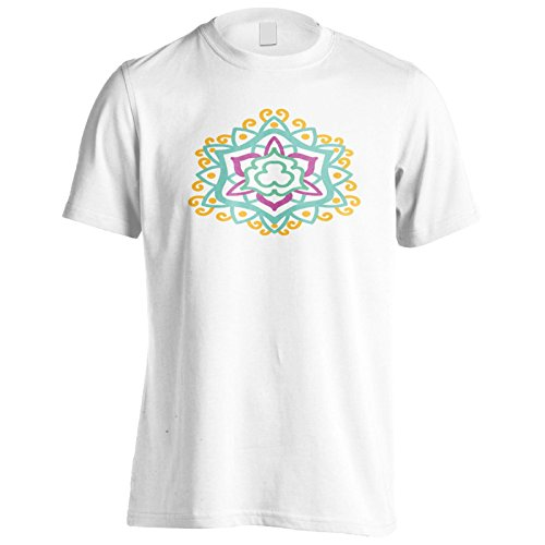 Mandala 02 Herren T-Shirt n319m