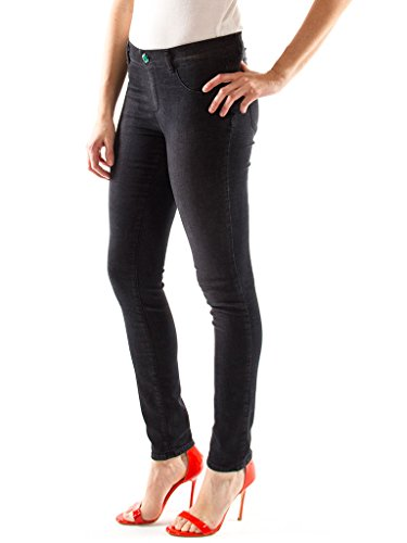 Vera Denim Nero Regular Aloe Jeans Vestibilità 910 Vita Con Donna 767 Carrera Trattamento Look Skinny Jeggings Per Denim vxR1BTa