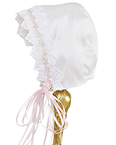 Tess 18 Month Silk Christening Baptism Blessing Gown for Girls, Made in USA by One Small Child (Image #5)
