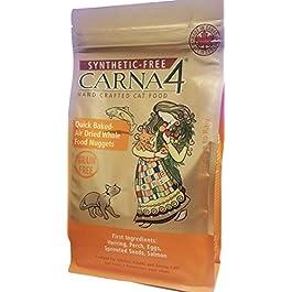 CARNA4 Grain Free Cat Food, Fish Formula (Herring, Perch, Salmon)