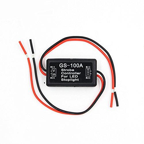 Meiyiu LED Brake Stop Light Strobe Flash Module Controller Box GS-100A for Car 12V