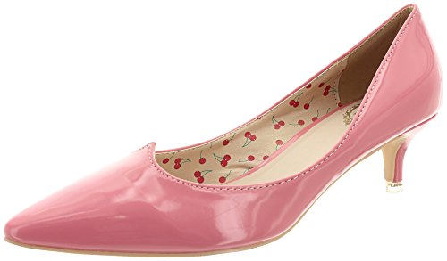 bND057 kitten Banned rose bonbon pumps heel vILMA gtnq7