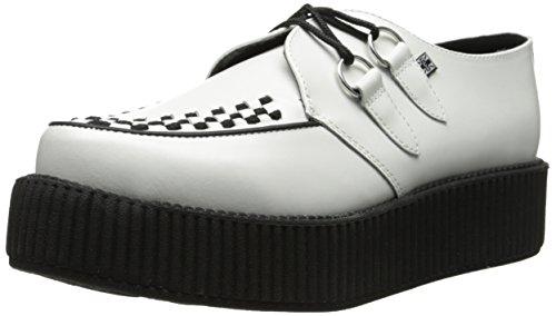 T.U.K.. Mondo Sole Round Creeper, Damen Sneaker Weiß - Weiß