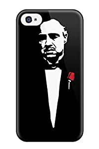 Premium Don Vito Corleone - The Godfather Heavy-duty Protection Case For Iphone 4/4s